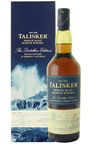 whiskyshop talisker distillers edition 2016